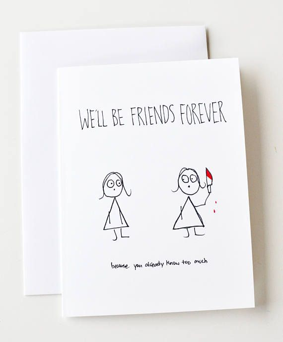Friendaversary, Friendship, Birthday, Valentines day, galentines day, funny valentine card, sassy valentine, friends forever