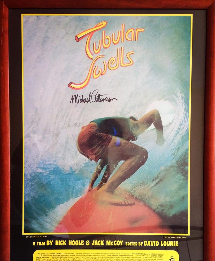 Great find in the shed and signed by legendary surfer shaper Michael Peterson. Classic surf movie. #surfmovies #vintagesurfing #vintagesurf #michaelpeterson #snapperrocks #bells #bellsbeach #tees #tshirts #tubes #barrels #surflegends #classic #surfing #shaper by raresurftees http://ift.tt/1KnoFsa