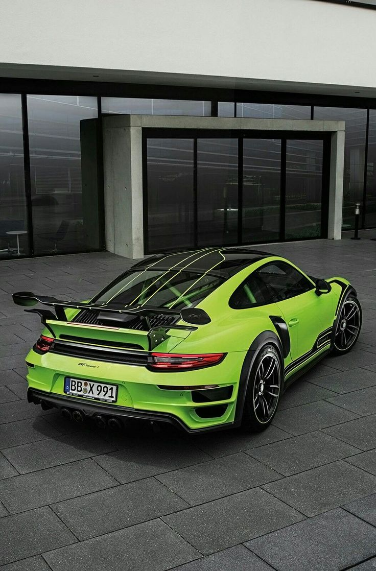 (°!°) 2016 TechArt Porsche 911 Turbo GTstreetR... bitch'n
