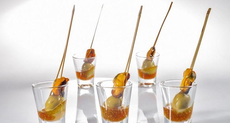 16 best tapas fr as images on pinterest tapas bodas and - Tapas originales frias ...