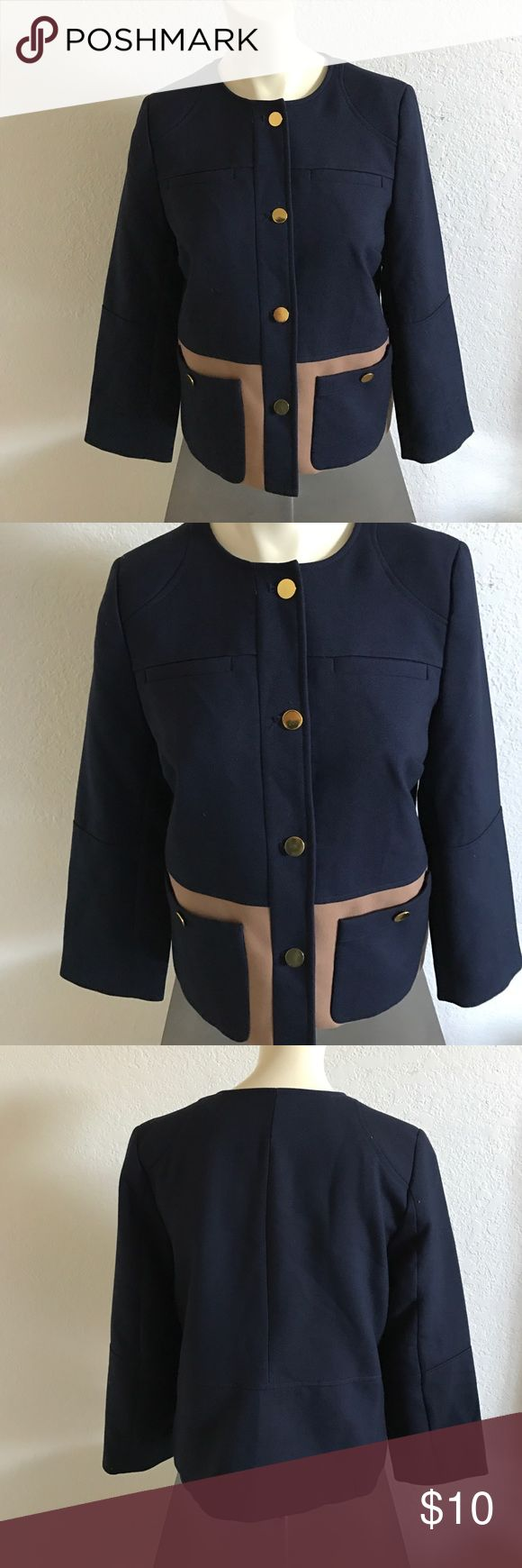 Women's Military Style Jacket by H&M Super cute jacket by H&M *no defects size: 6/small H&M Jackets & Coats Blazers