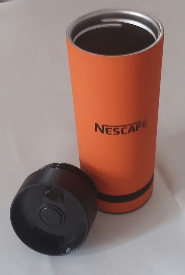 #Streetcom, bardzo dziękuję za wspaniałą nagrodę w konkursie #Nescafe3in1  Kubeczek termiczny jest prześliczny #noweSmakiNescafe3in1 #vanillanescafe3in1 #caramelnescafe3in1 https://www.facebook.com/photo.php?fbid=1721266154806537&set=o.145945315936&type=3&theater