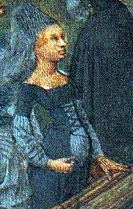 burgundian-placket Front laced pregnancy in the middle ages
