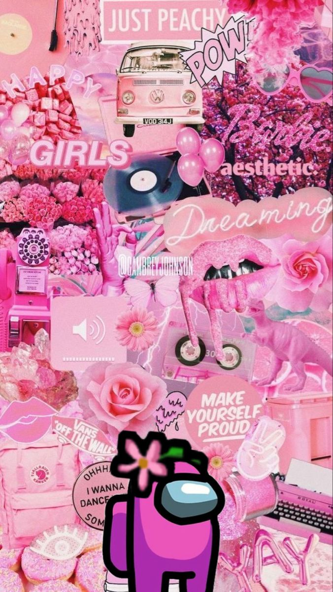 Among Us Pink Wallpaper Backgrounds Pretty Wallpaper Iphone Cute Patterns Wallpaper