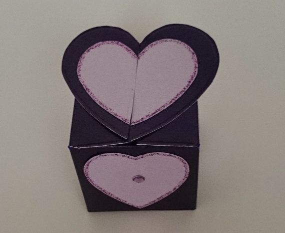 Handmade Heart/Flower/Butterfly Top Box by BavsCrafts on Etsy