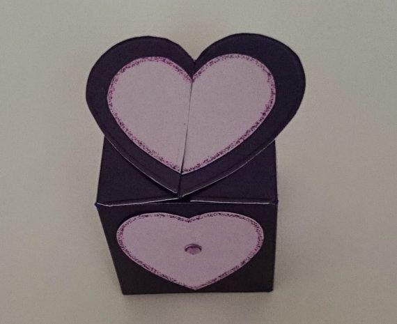 Handmade Heart/Flower/Butterfly Top Box by BavsCrafts on Etsy