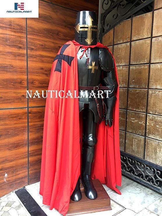 Amazon com: NAUTICALMART Medieval Crusader Full Body Suit of