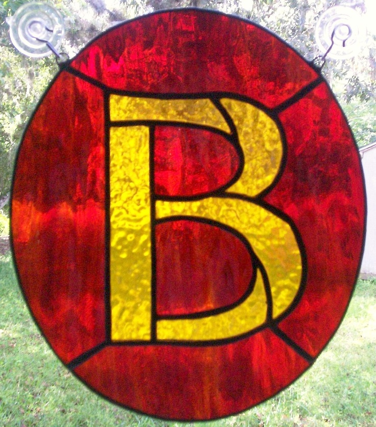 17 best images about stained glass monogram on pinterest