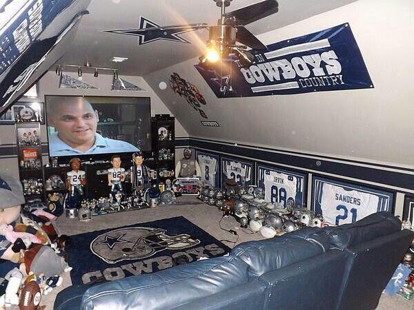 Man Cave Dallas : Man cave forget that woman football dallas