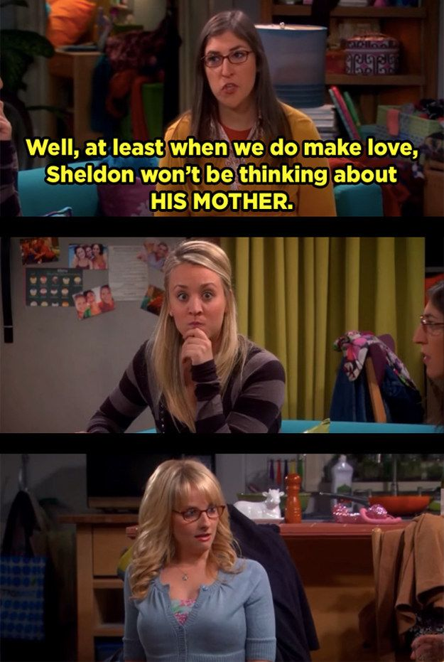 "And when Amy unleashed some third-degree burns of her own — and Penny's face was our face. | 21 Moments ""The Big Bang Theory"" Had Absolutely No Chill"