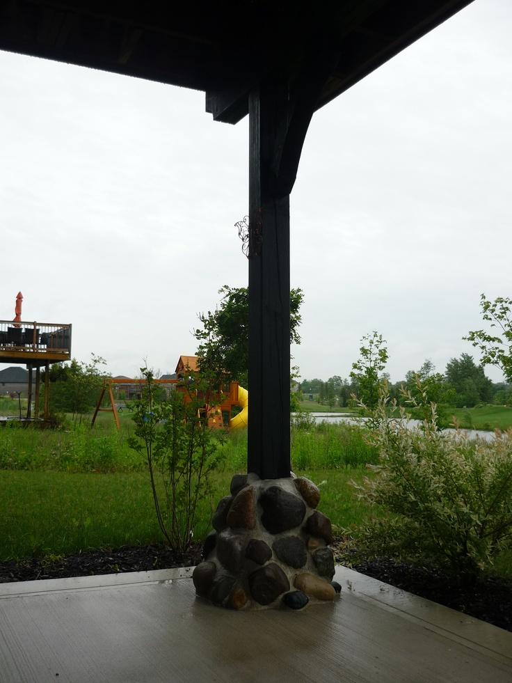 Deck posts (2)