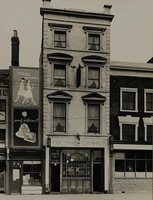 Three Crowns , 237 Mile End Road, Mile End E1