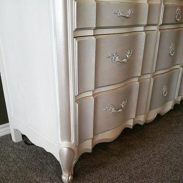 Metallic Chalk Paint Furniture