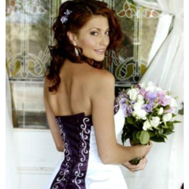 Stevie - Mcleods Daughters. Wedding dress