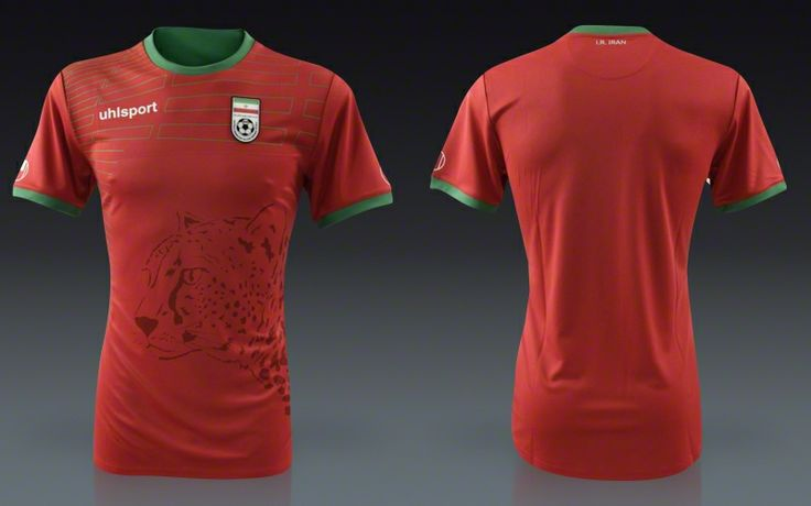 Iran 2014 Uhlsport Away