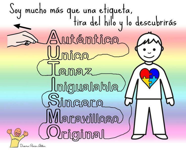 2 de abril – Día Mundial de concienciación sobre el Autismo  #DiaMundialAutismo