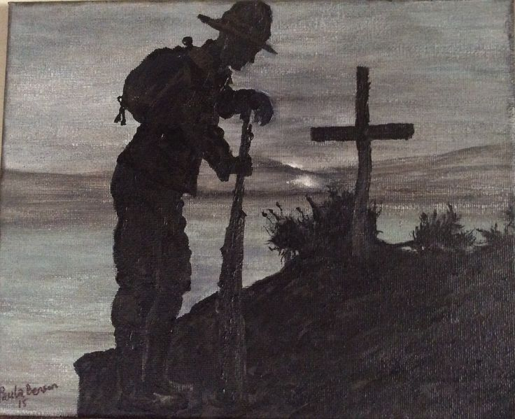 """""""The Mourning Soldier"""" by Paula Benson from Centenary Collection"""