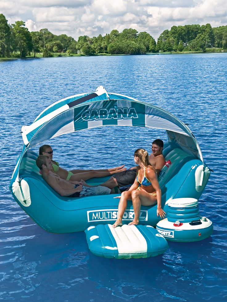 Floating Rafts For Lakes Sportsstuff Cabana Inflatable
