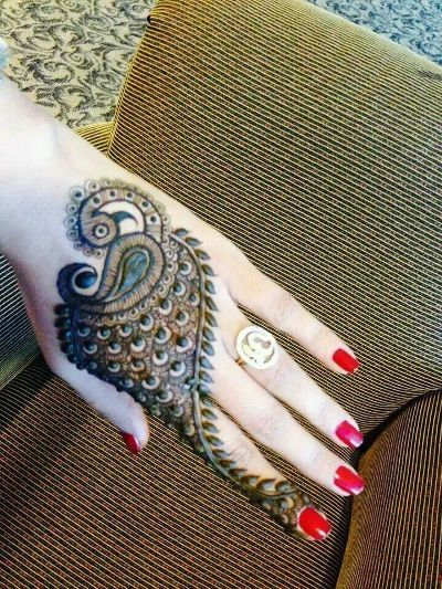 24 Beautiful Mehendi Designs For Your Hands - Body Art Guru