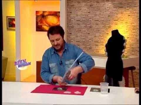 Martín Muñoz Bienvenidas TV Realiza moldería con hotmelt - YouTube
