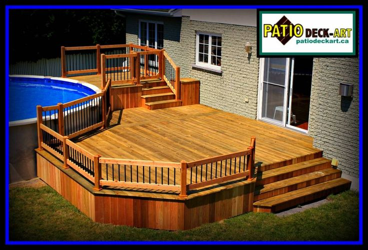 PATIOS BOIS | MODELE| DESIGN | VIDEO | DECK | CEDRE|PHOTO