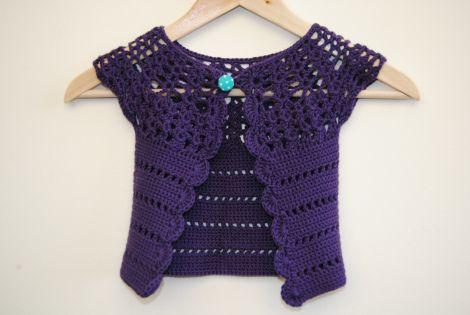 Crochet cardigan, size: 2 years
