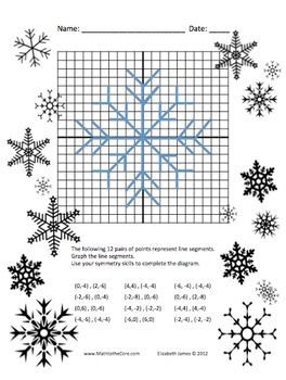 Christmas Graphing Points Worksheets - Ulelasien.us