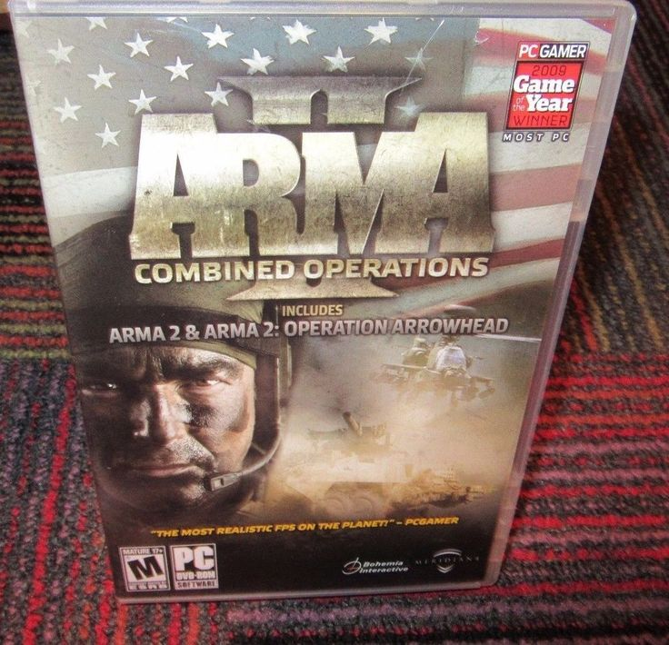 ARMA II: COMBINED OPERATIONS PC DVD ROM, ARMA II & ARMA 2 OPERATION ARROWHEAD