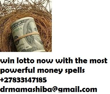 Lottery Spell call drmama shiba  +27833147185 You won't see more than one lottery spell here! Why not? There is only one lottery spell that works so quick and effective. Lottery spells don't require anything more than great talent.
