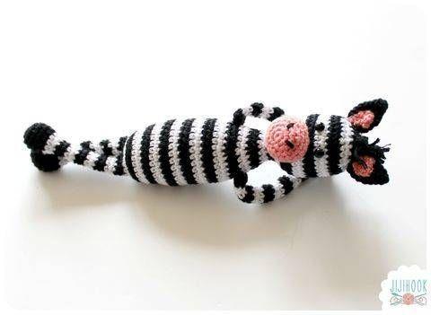 Patron Zèbre en Crochet chez Makerist en français