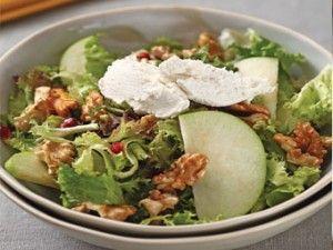 Elmalı ve Karamelize Cevizli Salata