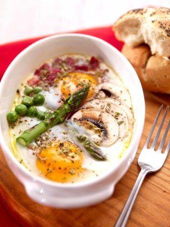 Recuperando la tradición: huevos al plato