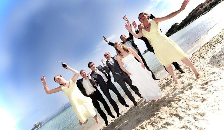 Foto di gruppo - Matrimonio all'Hotel Gabbiano Azzurro