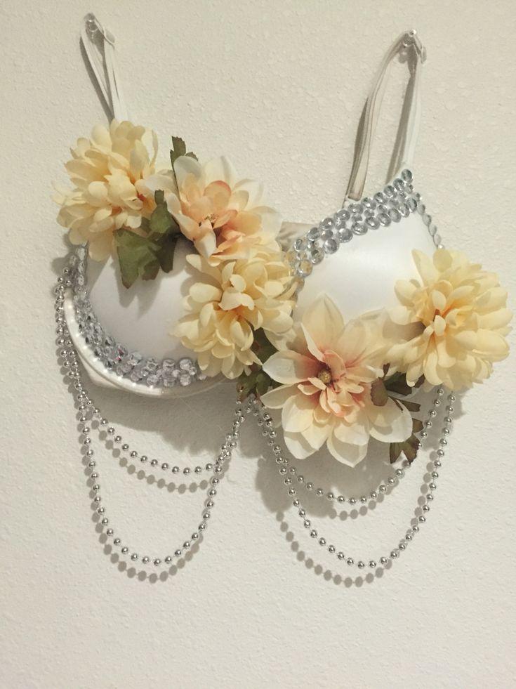 Floral Rave Bra