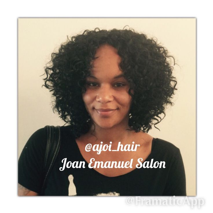 Crochet Braids Presto Curl : Crochet Braids with Freetress Presto curl!! Cut into stacked Bob.