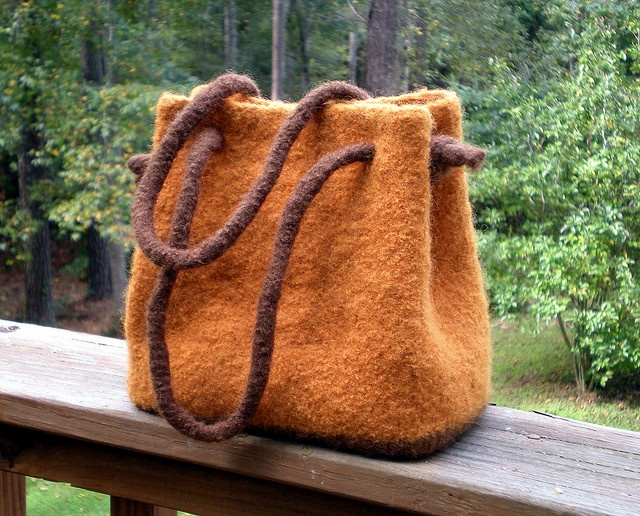 Felted Bag: handle option