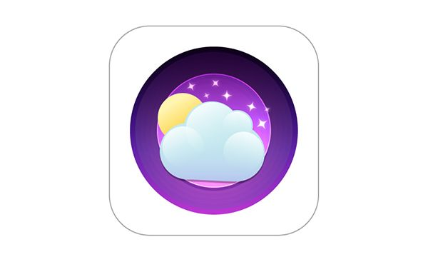 Illustrator Tutorial: 6 Quick Steps to Creating a Fantastic Weather App Icon | Vectips | #illustrator #tutorial #weather #icon #app