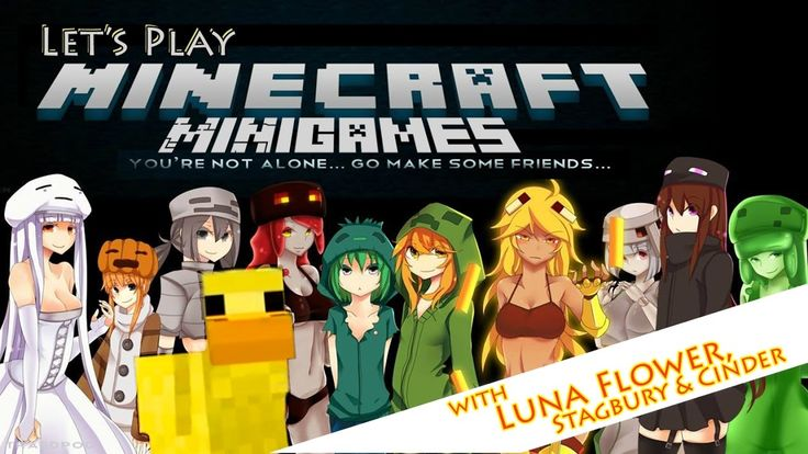 Let's Play Minecraft Minigames, Build Battle on Hypixel with Stagbury an...