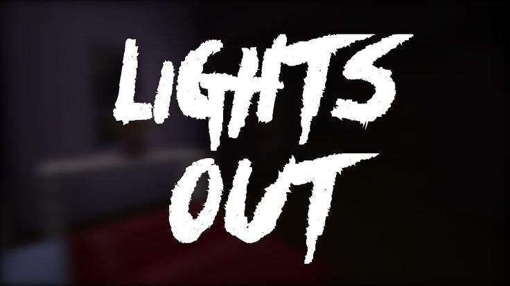 Minecraft Lights Out Horror Map!!!