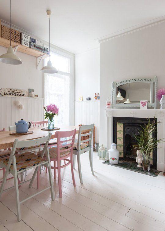 Caroline & Simon's Modern Vintage Maisonette in London — House Tour