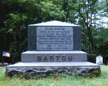 "Clarissa ""Clara"" Harlowe Barton (1821 - 1912)  The Founder of the ""Red Cross"""
