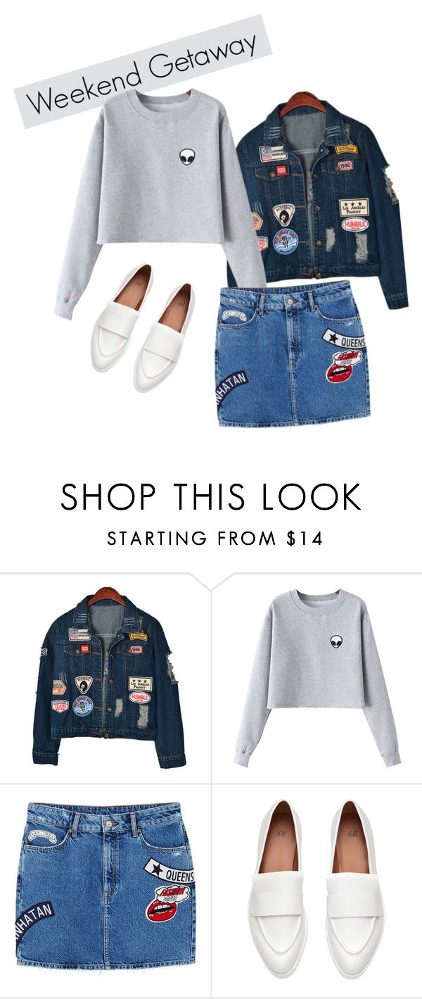 """""""Alien"""" by freisstea on Polyvore featuring Chicnova Fashion and MANGO"""