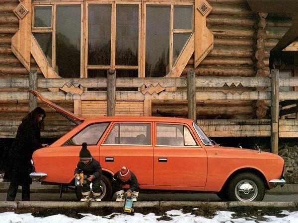Iž 2125 liftback | V/O Avtoexport SSSR Moskva