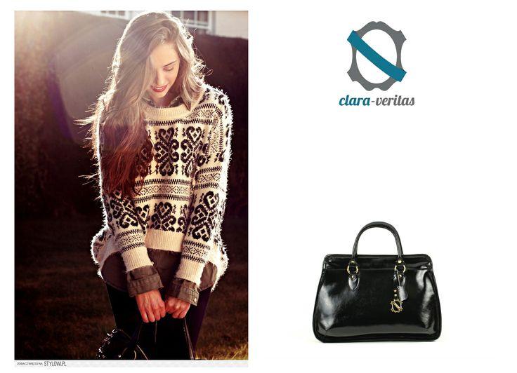 You can buy this bag by visiting: http://sklep.scarpadolce.pl/pl/do-reki/125-clara-veritas.html