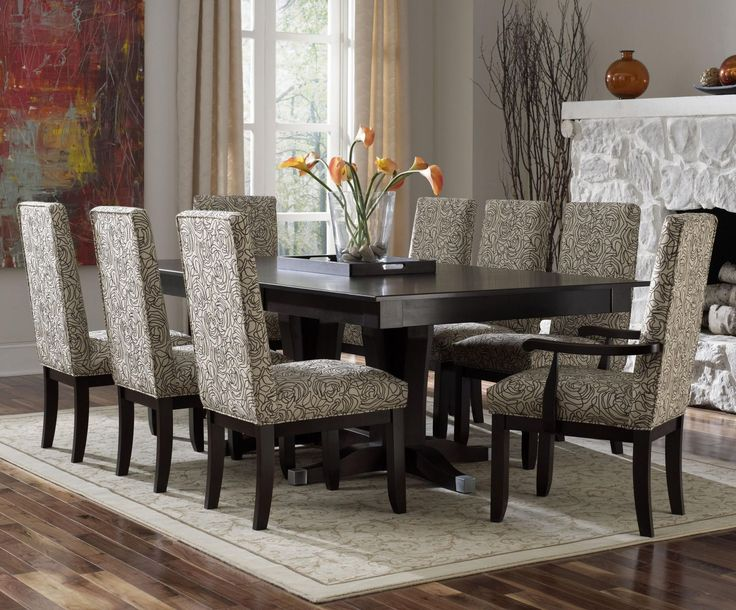 Modern Dining Room - | Formal dining rooms, Modern dining room sets and Dining room sets