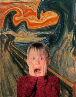 Macauley Culkin Amp The Scream Particular Postmodernism In