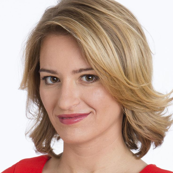 Katy Tur of NBC News.  The Trump sicced his audience on Katy resulting in the Secret Service having to protect her from the Trumpers