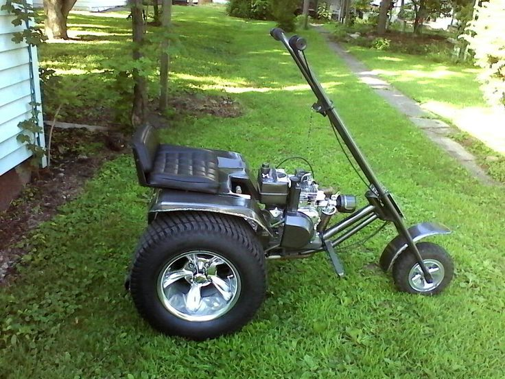 Mini Wheel Horse Tractor : Trike made from wheel horse tractor pinterest