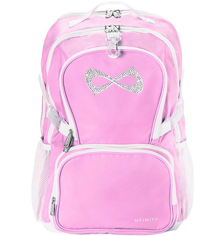 Nfinity princess backpack in teal or pink