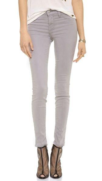 perfect grey skinnies